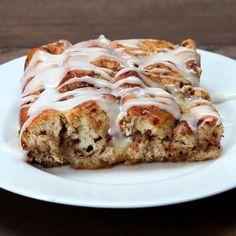 Cinnamon Roll French Toast Bake Recipe by Tasty