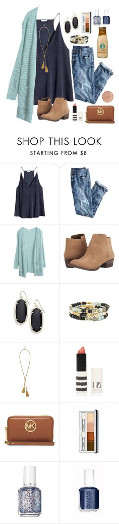"""Thanks for 400!!!"" by sophiaj002 ❤ liked on Polyvore featuring H&M, J.Crew, Jessica Simpson, Kendra Scott, Stella & Dot, Sole Society, Topshop, MICHAEL Michael Kors, Clinique and Essie"