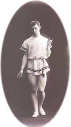 """Vaslav Nijinsky in """"Eunice"""""""