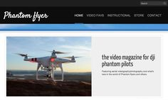 TODAY #Phantom Flyer #online #magazine is LIVE! The #video magazine for #DJI phantom pilots Be sure to check it out www.phantomflyer.net