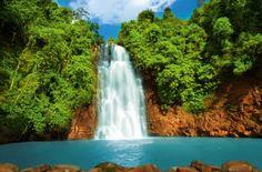 Tropikalny Wodospad - plakat