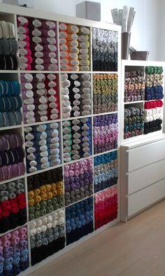 New #dropsdesign Store In Ljubljana, Slovenia: @Melissa Squires Harris A  šolau2026 Yarn StorageCraft ...