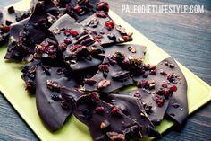 Sweet & Salty Chocolate Bark   Paleo Diet Lifestyle