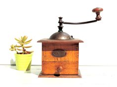 French Vintage Coffee Grinder/ Peugeot Freres Coffee Grinder/Vintage Coffee Mill/Vintage Coffee Grinder/French Vintage Coffee Mill by SouvenirsdeVoyages on Etsy