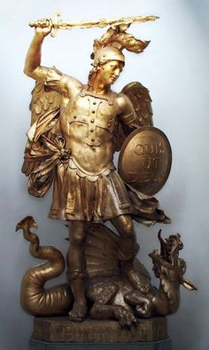 St. George--Slayer of Dragons...#art #sculpture #statue