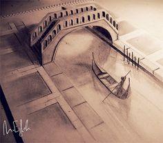 Amazing 3D Pencil Drawings