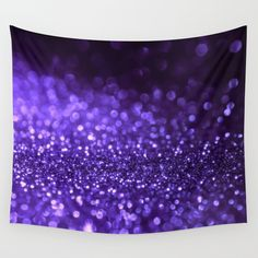 Buy Pantone Color 2018 Ultra Violett Purple Glitter Wall Tapestry by betterhome. Worldwide shipping available at Society6.com. Just one of millions of high quality products available. #home #homedecor