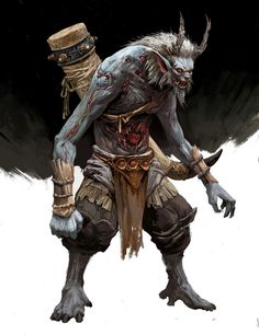 Dnd Characters, Fantasy Characters, Fantasy Creatures, Mythical Creatures, Game Character, Character Concept, Kratos God Of War, Dnd Monsters, Creature Concept Art