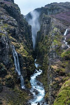 Glymur Waterfall, Iceland, Polar RegionsBy John Alexander - Leather Tutorial and Ideas Landscape Photography, Nature Photography, Travel Photography, Outdoor Photography, Photography Props, Children Photography, Beautiful Waterfalls, Beautiful Landscapes, Places To Travel