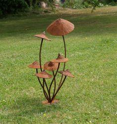 Dragons Wood Forge - Blacksmith and Wood Sculpture, Garden art, metal sculpture, garden sculpture, Neil Lossock: