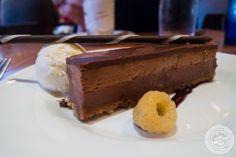 Chocolate hazelnut crunch bar atDavid Burke's Kitchen in New York, NY