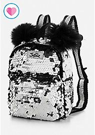image of Panda Flip Sequin Mini Backpack with Cute Mini Backpacks, Stylish Backpacks, Girl Backpacks, Mochila Do Bts, Mini Mochila, Sequin Backpack, Backpack Purse, Fashion Bags, Fashion Backpack