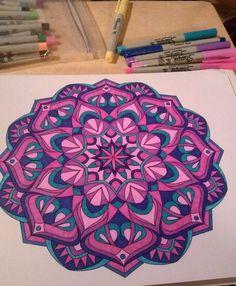 ColorIt Mandalas To Color Volume 1 Colorist Becky Hale