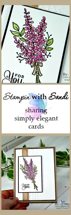 Stampin Up - Lots of Lavender