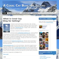 Website http://coralcay.wordpress.com/ snapped on Snapito!