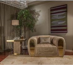 Luxurious Interiors - Rare Handcrafts by Fertini Casa. Living Room Sofa Design, Living Room Designs, Luxury Sofa, Luxury Living, Sofa Furniture, Luxury Furniture, Curved Sofa, Fabric Armchairs, Italian Furniture