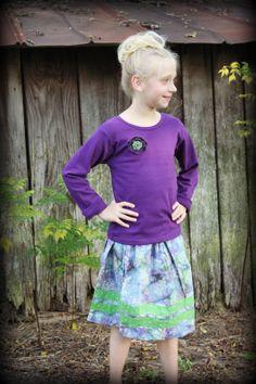 Grape Juice Skirt