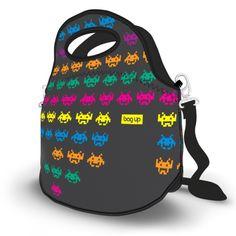 Lancheira Térmica S Invaders - Lancheira Térmica Neoprene Bag Up