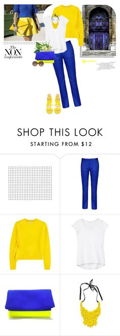 """""""How to wear bold trousers"""" by stream ❤ liked on Polyvore featuring STELLA McCARTNEY, J.W. Anderson, Athleta, Branca, FC Select Design, Prada, Chloé, women's clothing, women and female"""