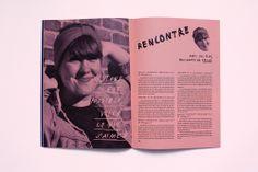 We Make it Projet fictif de revue sur la culture Do It Yourself A3 pliés en deux, reliés avec un élastique Impression noire sur papier couleur 48 pages