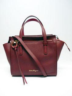 GENUINE FERRAGAMO BAG 'Mini Amy' Leather Tote
