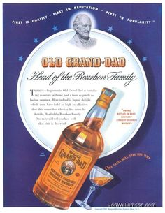 Old Grand-Dad Straight Bourbon Whiskey - 1942/08/24 Life