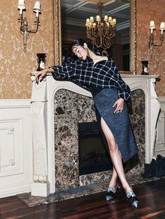 Ji Young Kwak -Harper's Bazaar Korea September 2015photos Kim Yeongjunhair Kim Sun Heemakeup Cho Sinov