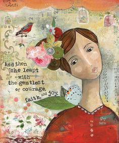 Gentle-Courage-prints-Kelly-Rae-Roberts-Ready-to-Frame-matted-signed