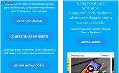 Whatsapp cambia de color: cuidado con el último timo en esta app