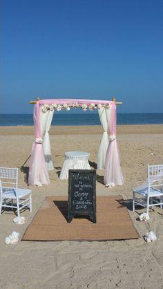 Beach Wedding Ocean City Md Barefoot Bride