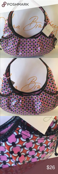 🆕VERA BRADLEY NEW SHOULDER BAG 💯AUTHENTIC VERA BRADLEY NEW NEVER USED WITH TAGS SHOULDER BAG 100% AUTHENTIC. SUCH A BEAUTIFUL BAG! STUNNING AND STYLISH PERFECT FOR ANY OCCASION! THIS LOVELY BAG IS COATED WITH A HIGH GLOSS FINISH WHICH MAKES IT VERY EASY TO KEEP CLEAN. THE BAG HAS TWO EXTERIOR POCKETS AND A ROOMY INTERIOR WALL ZIP POCKET. THIS WONDERFUL BAG MEASURES 14 INCHES WIDE BY 8 INCHES TALL. THE SHOULDER STRAP HAS A 8 INCH ROOMY DROP. IT IS MULTI COLORED Vera Bradley Bags Shoulder…