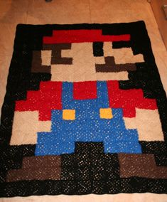 Mario Blanket. Gina how much would you charge for this??