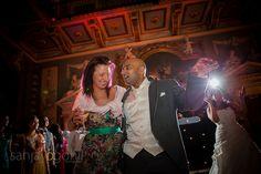 Groom dancing at Moor Park Mansion