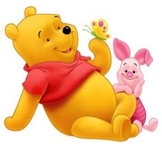 Winnie the Pooh and Piglet PNG