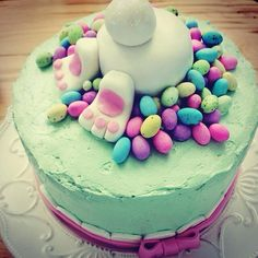 Easter Bunny Cake!!! Love this!!*