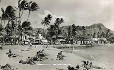 Kuhio Beach at Liliuokalani Tiki Hawaii, Hawaii Hula, Honolulu Hawaii, Hawaiian Dancers, Hawaiian People, Vintage Surf, Vintage Hawaiian, Vintage Travel, Hawaii Travel