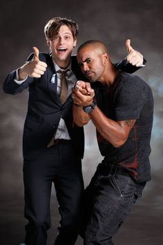 Shemar Moore and Matthew Gray Gubler in Japan | Shemar Moore's Life in Pictures & Video