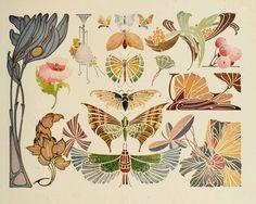 Stencil work art deco tattoo, tatoo art, art deco flowers, heaven a Fleurs Art Nouveau, Motifs Art Nouveau, Azulejos Art Nouveau, Design Art Nouveau, Motif Art Deco, Art Nouveau Pattern, Art Deco Art, Tatoo Art, Art Deco Tattoo