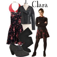 Another Clara outfit. I wouldn't probably wear this but it had my name so I wanted to repin it!
