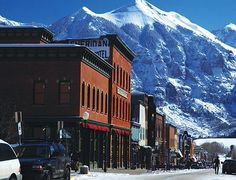 my favorite mountain town: Telluride, Colorado