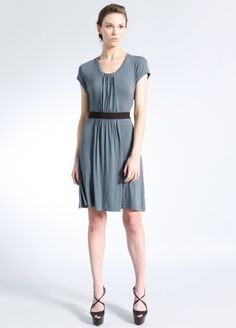 Falling Water knit dress, turbulence: Brooklyn Industries