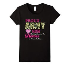 Women's Proud Army Mom Shirt - Birthday, Christmas Army Mom Gifts | One of the largest and best collection of Mother's day style sayings and graphic tee shirts anywhere on the web. The great gift for your mom or wife. More styles daily updated!
