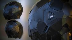 ArtStation - Cyborg Helmet Hard Surface-Study - Realtime render, Daniel Palmi