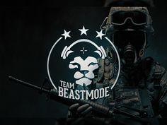 Beastmode Gaming Team Logo Counter Strike Global Offensive CSGO Design Inspiration