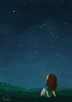 Every time I look at the night sky on the brightest Star I see you jàno ❤️ hirA I love you so much Meri jaán 💏 Meri Zindagi forever till the end of the time. Her Wallpaper, Cute Wallpaper Backgrounds, Cute Cartoon Wallpapers, Cute Cartoon Pictures, Cartoon Pics, Cartoon Art, Painting Digital, Alone Art, Girly Drawings