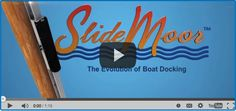 Easiest Boat Docking System - SlideMoor | The Evolution of Boat Docking