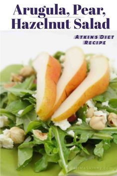 This Atkins Diet salad recipe made with nutrient-packed arugula greens providing substantial amounts of vitamins A, K and C, folate, calcium, iron, potassium, magnesium and several beneficial phytochemicals. It really is a super food. You will find that this Atkins diet salad is especially delicious served with salmon. Be sureRead More →