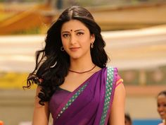 Shruti Hassan In Purple Saree Hd Wallpaper ,Bollywood Actress And Movie Wallpaper With Indian Celebrity HD Wallpaper For Desktop Shruti Hassan Images, Shruti Hassan Wallpapers, Bollywood Heroine, Bollywood Actress, Indian Celebrities, Bollywood Celebrities, Bollywood Wallpaper, Purple Saree, Bollywood Images