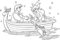 47 Best Coloring Pages Little Mermaid Images On Pinterest