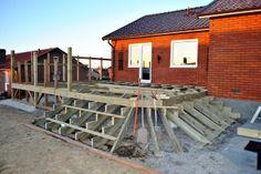 Altan trappa bygge
